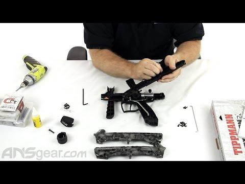 Tippmann Gryphon Paintball Gun - Basic Maintenance