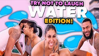 COUPLES TRY NOT TO LAUGH | WATER EDITION | HILARIOUS