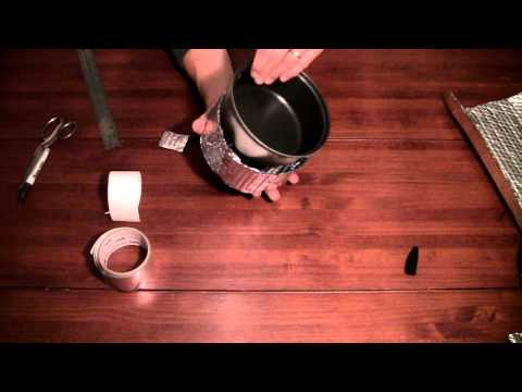 How to Make Backpacking Pot Cozies