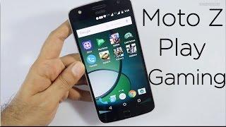 Moto Z Play Gaming Review & Temp Check