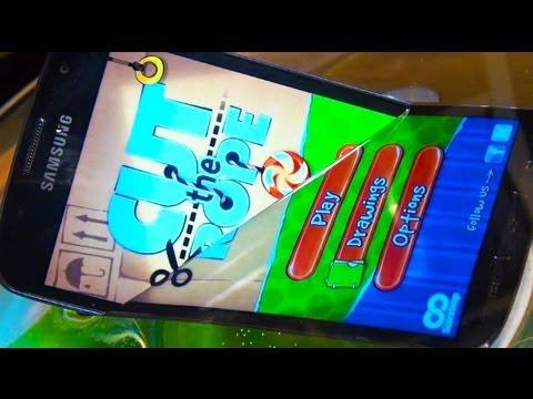 Samsung Galaxy S4 ACTIVE Screenshot UNDERWATER?