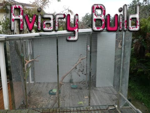Building a Parrot Aviary for a Galah (The Strawberry Patch)