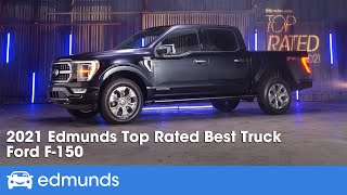 2021 Ford F-150: Edmunds Top Rated Truck | Edmunds Top Rated Awards 2021