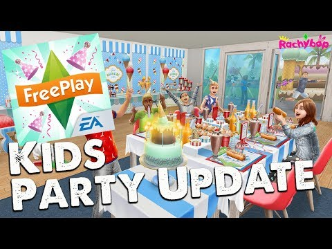 The Sims Freeplay Kids Party Update [Early Access]