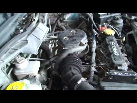 bodgit and leggit garage opel astra how to remove haed (part 2)