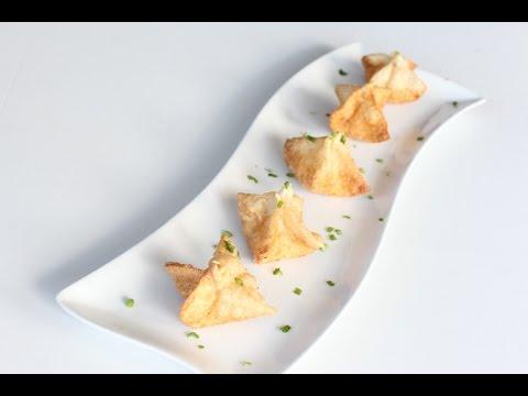 Crab Rangoon (Fried Crab Cheese Wontons)
