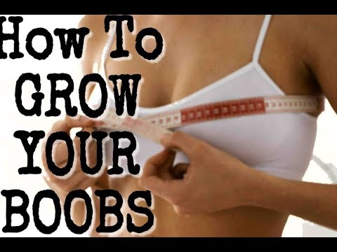 HOW TO GROW/REDUCE YOUR BREAST SIZE