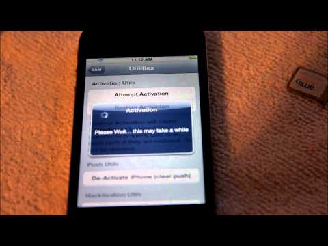 Unlock ANY JAILBREAK iphone 4s, 4g, 3gs, 3g on any firmware with SAM
