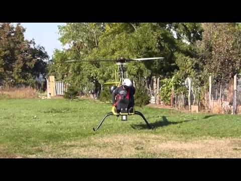 Homebuilt Helicopter Built in Hungary, Z.Dobi