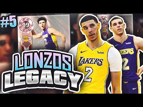 LONZOS LEGACY 2.0 #5 - CRAZY ANKLE BREAKER!! NBA 2K18 MYTEAM!