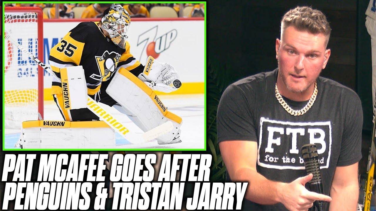 Pat McAfee Goes After Tristan Jarry And Penguins Playoff Performance