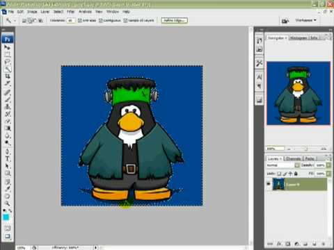 Removing Backgrounds with the Magic Wand Tool Photoshop