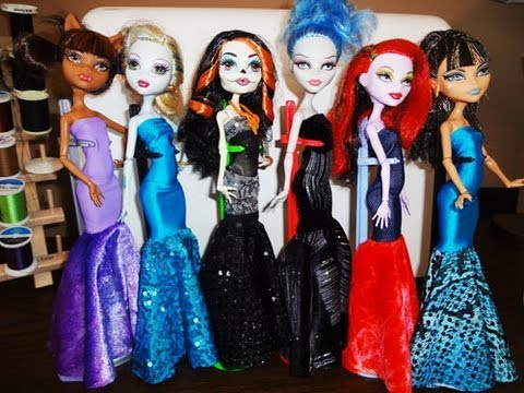 How to make a Monster High Mermaid Dress