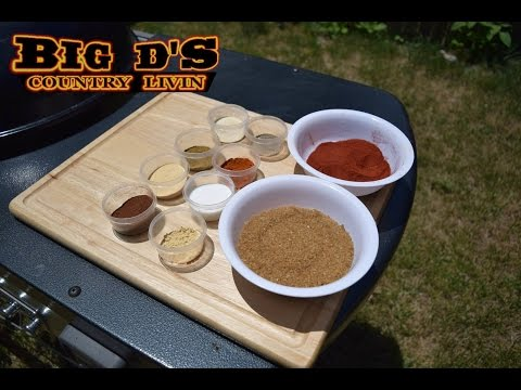 HOW TO MAKE BIG D's THE BEST BBQ RUB