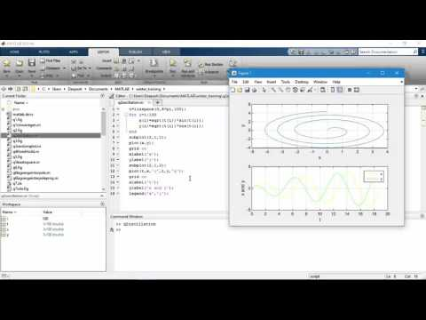 How to plot and edit multiple graphs in same figure in MatLab