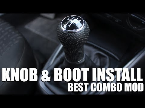 How to Install a New Shift Knob and Shift Boot