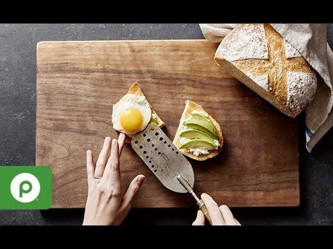 How to Make Avocado Breakfast Toast - Publix