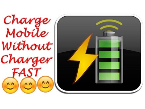 How to Charge a Mobile or Cell Phone Battery Without a Charger FAST