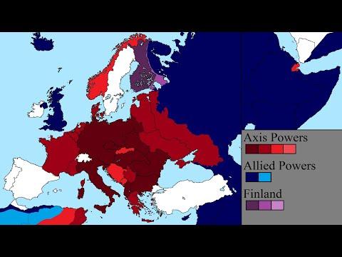 World War II in Europe: Every Day
