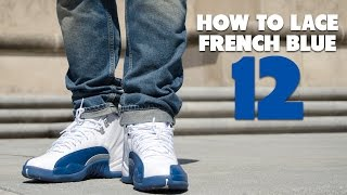 on sale a5745 0d3f8 Air Jordan 12 French Blue Line-Up and Review