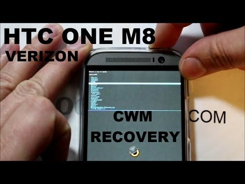 How to install CWM Recovery on the HTC One M8 Plus ROOT