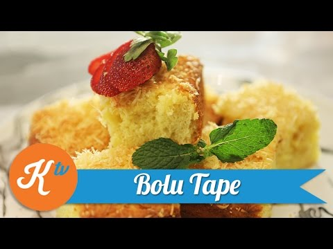 Resep Kue Bolu Tape | CHEF CITRA