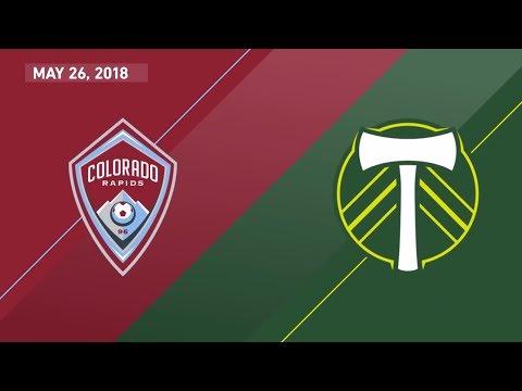 HIGHLIGHTS: Colorado Rapids vs. Portland Timbers | May 26, 2018