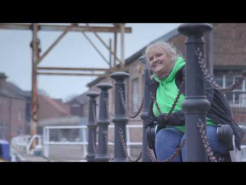 A wheelchair friendly walk along the River Trent at Newark