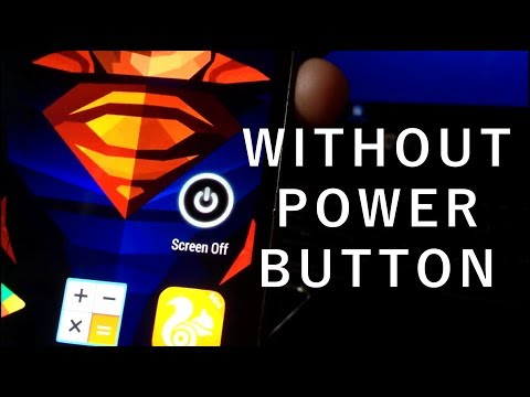 how to  turn on or lock a samsung device without using the power button
