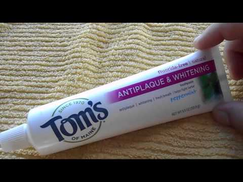 One Minute Reviews - Tom's of Maine Fluoride Free Toothpaste