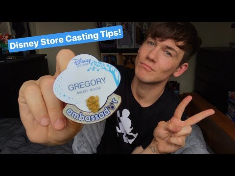Disney Store Casting Tips! How to get a job at Disney!