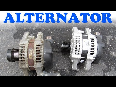 Alternator Replacement -  Toyota & Lexus V6