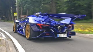 $3.0 Million Apollo Intensa Emozione - Brutal Start Up & Revs!