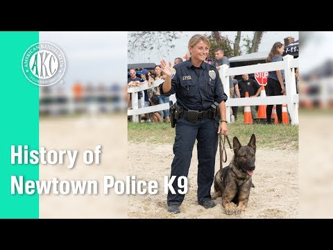 History of Newtown Police K9s