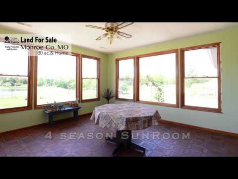 Monroe County, MO, Mark Twain Lake Earthen Home, Pool, Lake, Hunting & Golf