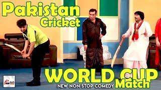 Pakistan Cricket World Cup Match 2019 - NASIR CHINYOTI, NASEEM VICKY Must Watch Funny😁😁Stage Drama