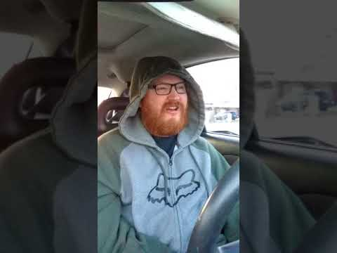 ANOTHER CRAZY WEIRDO MORNING DRIVE TO WORK [MOBILE RECORDING]