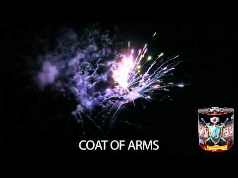 Red Rhino Fireworks - Coat Of Arms