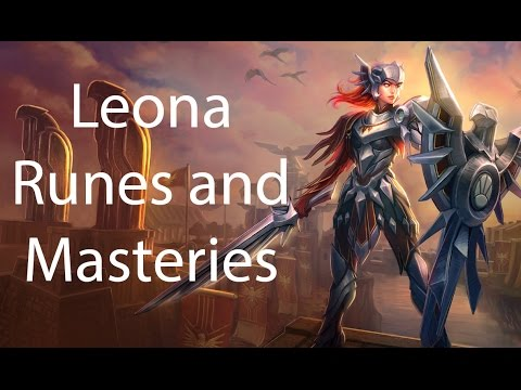 Leona Runes and Masteries Season 4