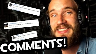 READING COMMENTS (Fridays With PewDiePie - Part 117)