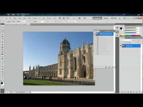 How to use Actions on Photoshop CS5