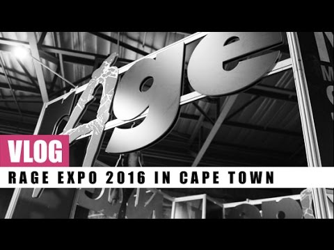 VLOG! Rage Expo 2016 in Cape Town | Gaming | Technology | Cosplay | Scarlet Aura