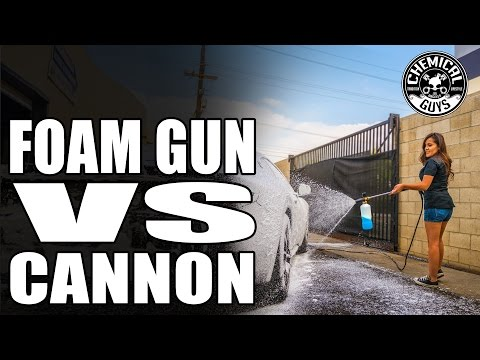 Foam Gun vs. Foam Cannon - Best Car Washing Tools For You! Chemical Guys Car Care