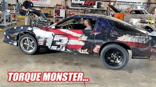 First Official Test of Toast's HUGE Supercharged Big Block!!! + Mystery Machine Tip Over...