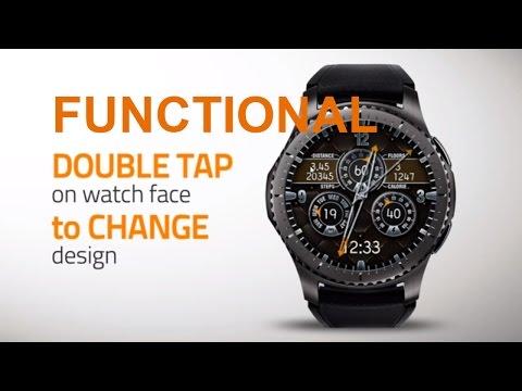 Chameleon 24Hrs - Watch Face Design for Samsung Gear S2 S3