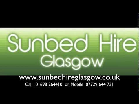 Sunbed Hire Glasgow