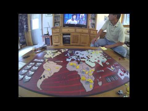 Risk Boardgame Timelapse using GoPro