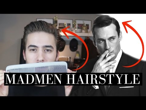 MADMEN/Don Draper Hairstyle | Iconic Hairstyle | CHAPTR Update