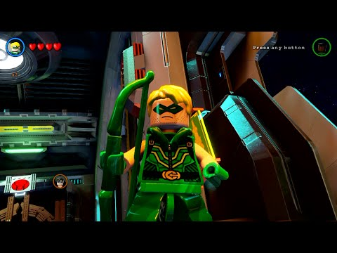 LEGO Batman 3: Beyond Gotham - Green Arrow Gameplay and Unlock Location