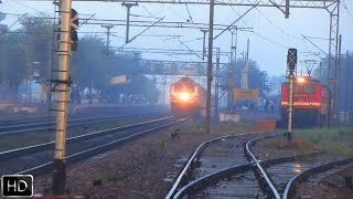 Ultimate clash of speed between Bhopal Shatabdi and Gatimaan Express